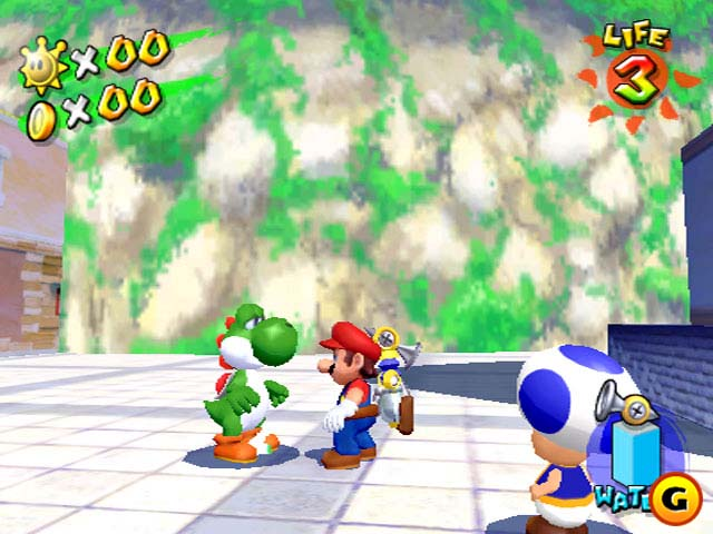 super mario sunshine 63 hacked